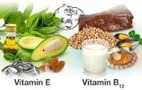 vitamin B and E