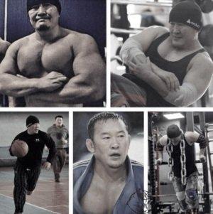 Khaltmaagiin Battulga training steroids