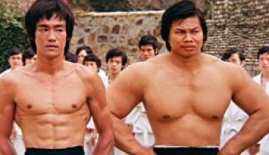 bruce lee and bolo