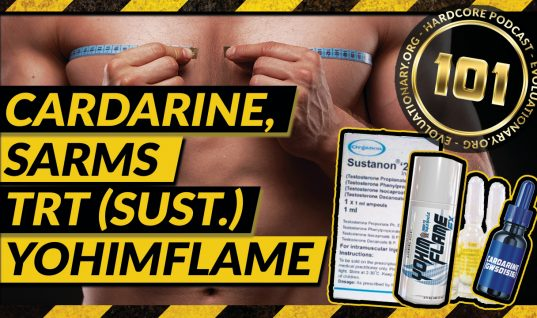Cardarine (GW), SARMS, TRT (Sustanon), Yohimflame and more