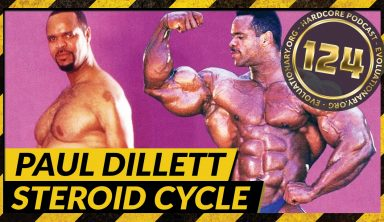 Evolutionary.org Hardcore #124-Paul Dillett Steroid Cycle