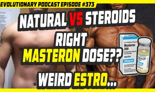 Steroids vs Natural, Right Masteron dose, weird Estro…