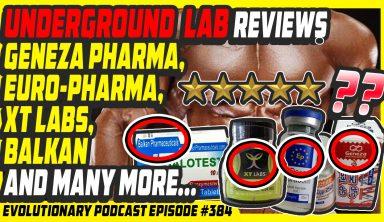 Underground Lab reviews Geneza Pharma, Euro-Pharma, XT Labs, Balkan and many more…