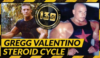 Gregg Valentino Steroids Cycle
