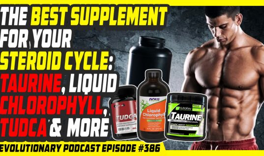 The best supplement for your steroid cycle: taurine, liquid chlorophyll, TUDCA and many more.