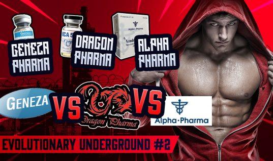 Evolutionary Underground #2 Geneza pharma Dragon Pharma Alpha Pharma