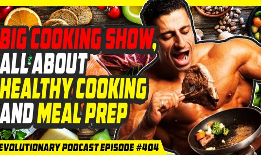 BIG cooking show, all about healthy cooking and meal prep video