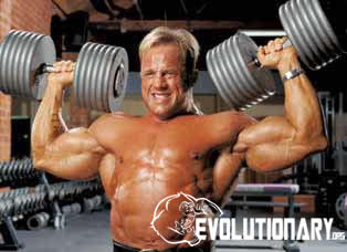 Craig Titus Seated Dumbbell Press